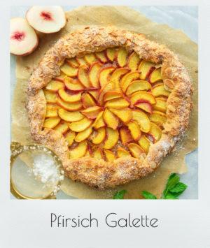 Pfirsich Galette