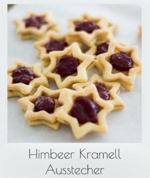 Himbeer- Karamell Ausstecher