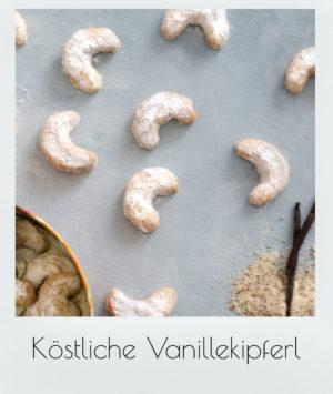 Köstliche Vanillekipferl