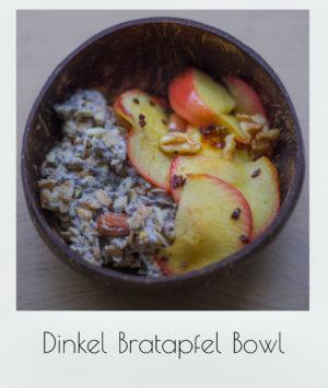 Dinkel Bratapfel Bowl